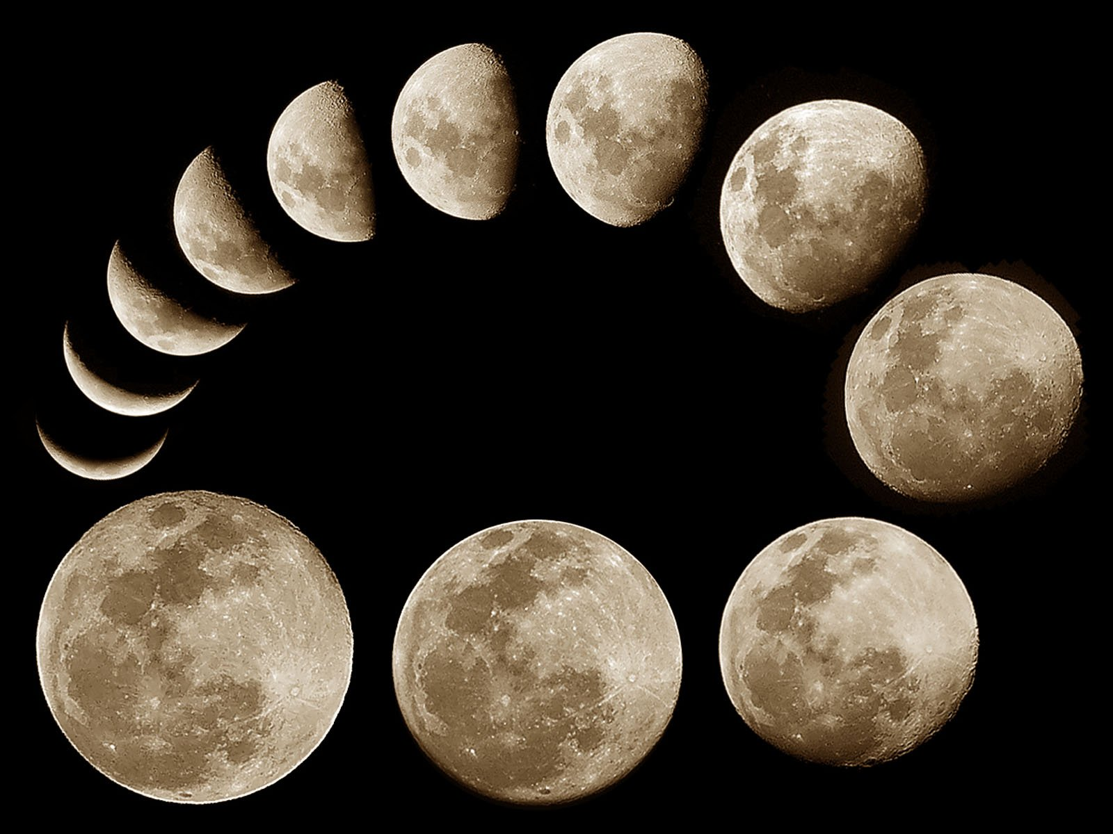 Tag Moon Phases Paos Images Wallpapers and Pictures for 1600x1200