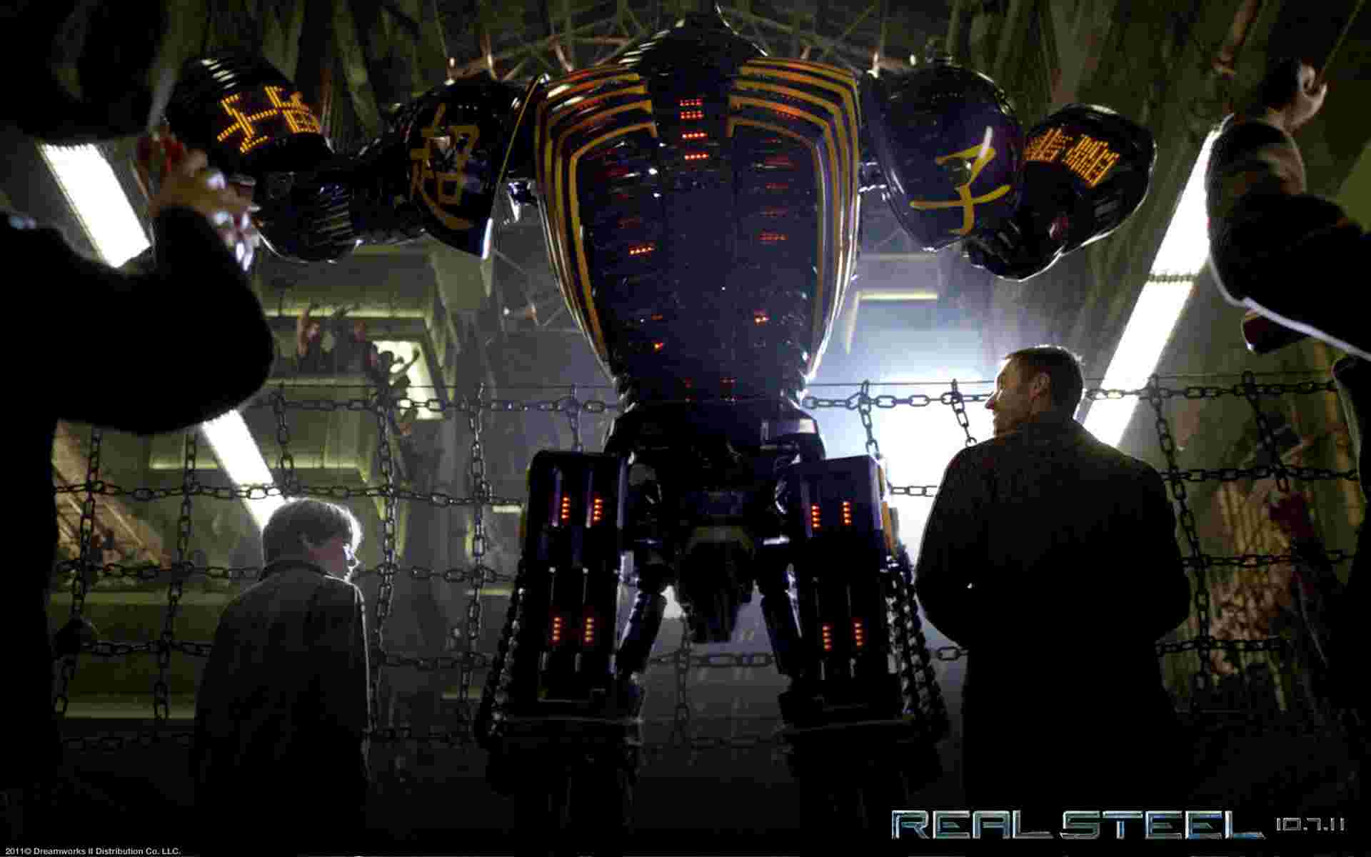Real Steel 03 wallpaper   Real Steel   Movies   Wallpaper Collection 1920x1200