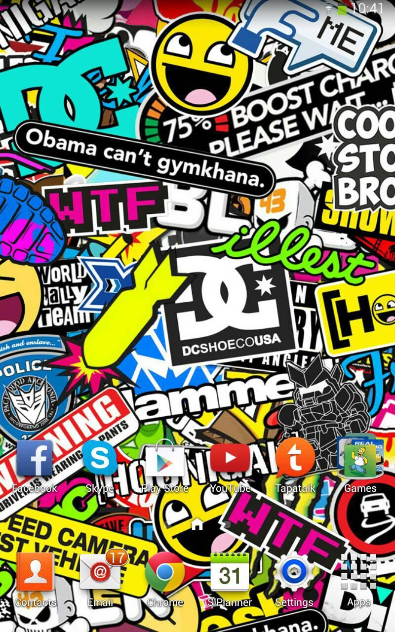 49+ Sticker Bomb Wallpaper on WallpaperSafari