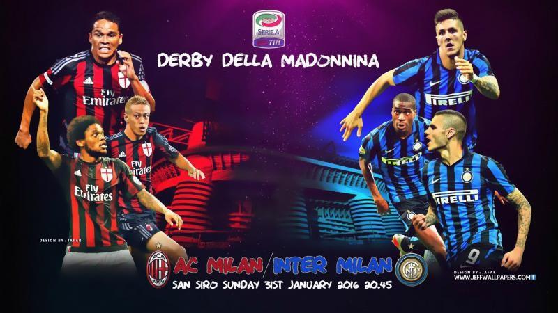 Name AC Milan vs Inter Milan 2016 Seria A HD Wallpapers 800x450