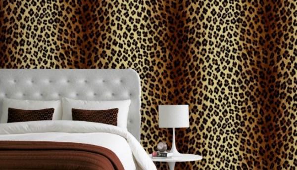 48 Leopard Wallpaper For Bedroom On Wallpapersafari