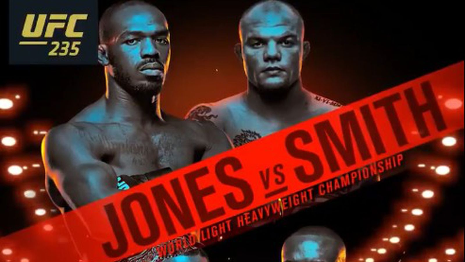 Pic UFC 235 official poster drops for Jones vs Smith 1600x900