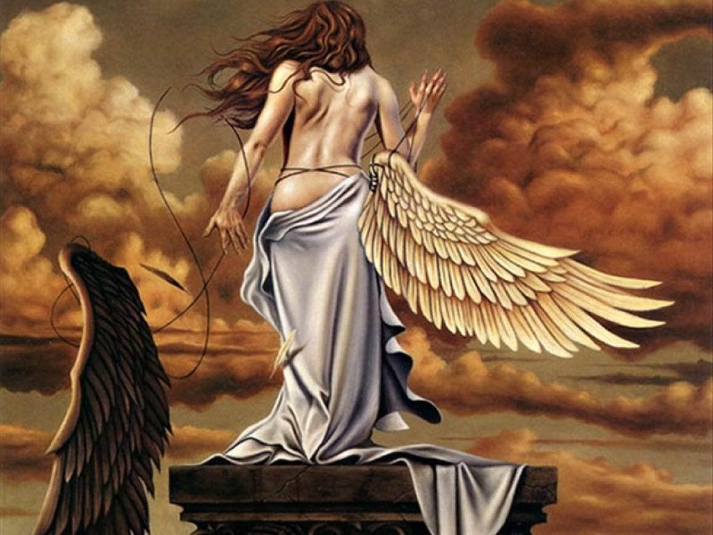 fantastic angel wallpaper   Fantasy Wallpaper 13958728 1024x768