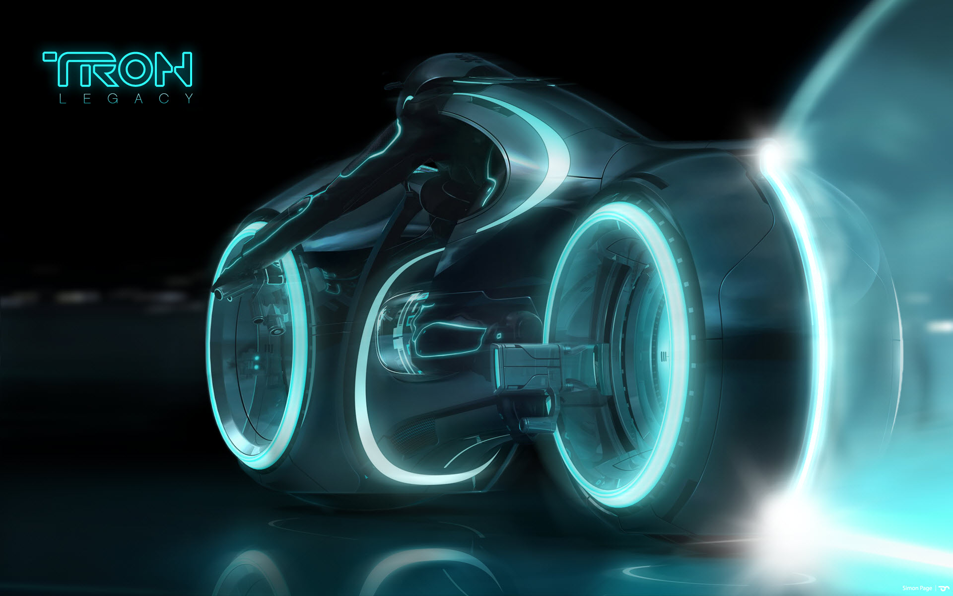 Geek Gifts 55000 Street Legal TRON LEGACY Light Cycle 1920x1200