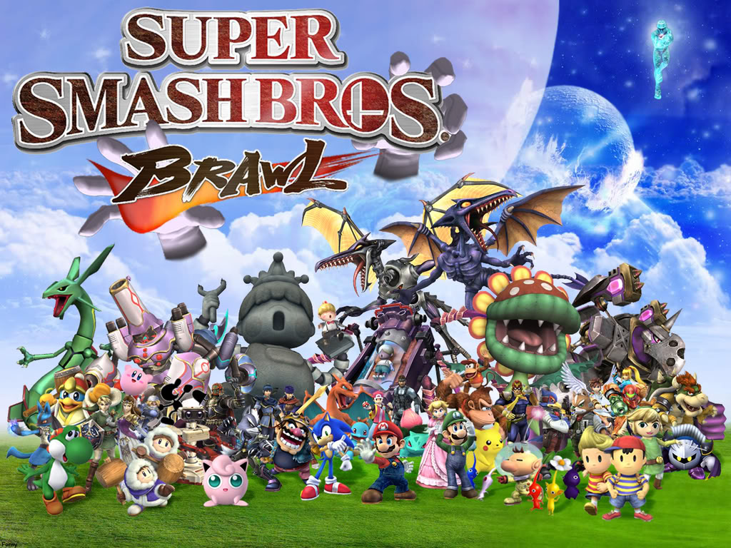Free Download Everyone In Super Smash Bros Brawl Super Smash Bros