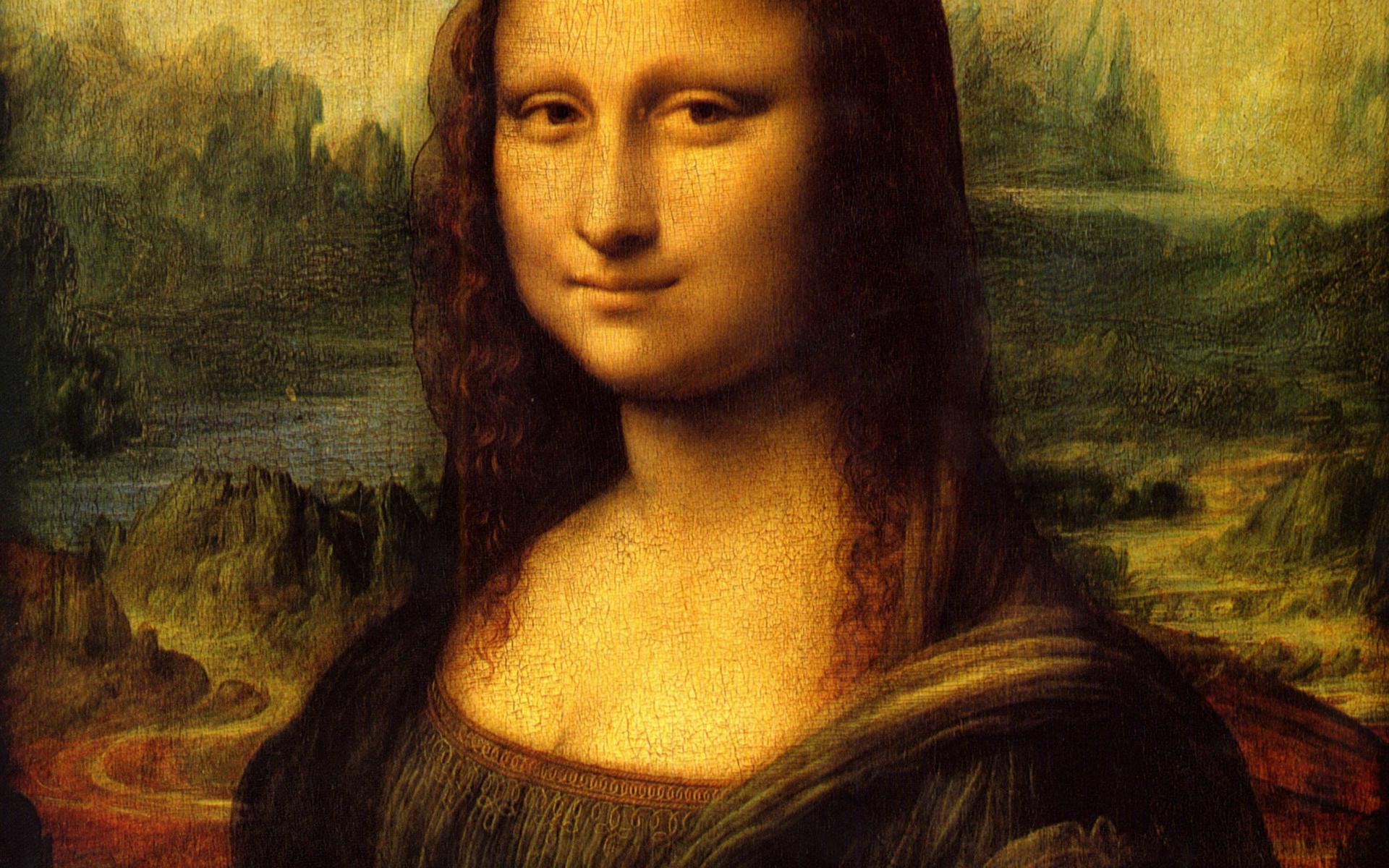 The Artistic Revolutions and Optical Illusions of the Mona Lisa 1920x1200