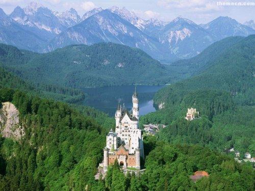 free german castle landscapes others wallpapers enjoy german castle 500x375