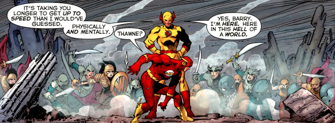 Reverse Flash From The Cw Reverse Flash From Dc Comics 1144x420