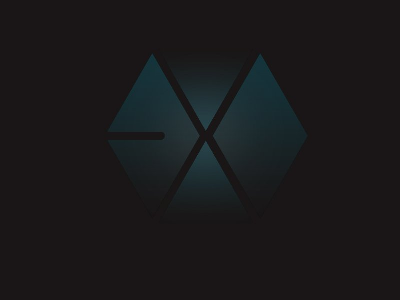 Exo Logo Wallpaper Exo logo hd psd by code 800x600