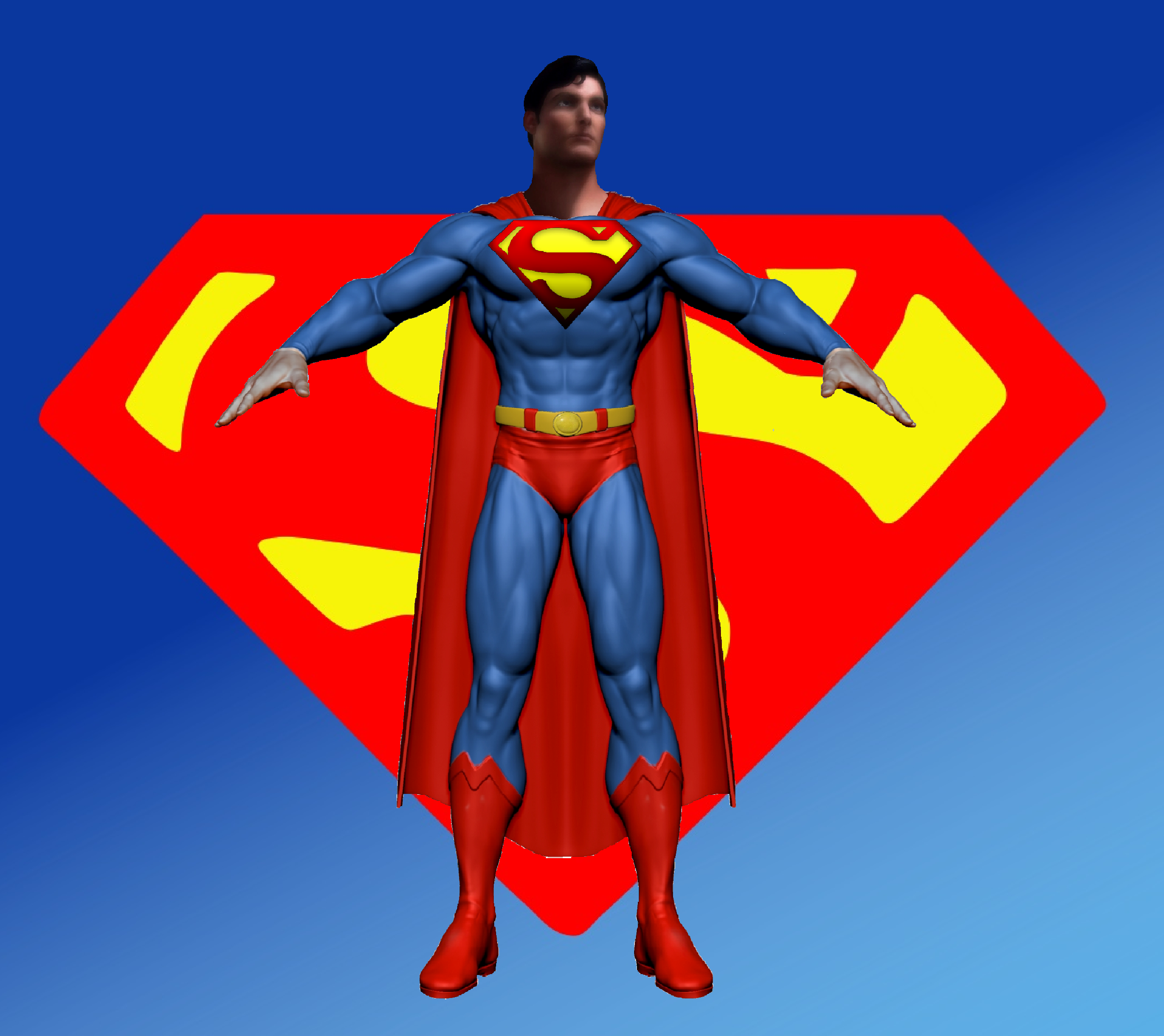 Superman Christopher Reeve Wallpaper by EisWorks 2480x2208
