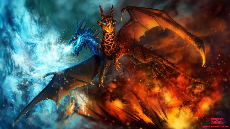 Jakiro The song of Fire and Ice Wallpaper Dota 2 HD Wallpapers 740x417