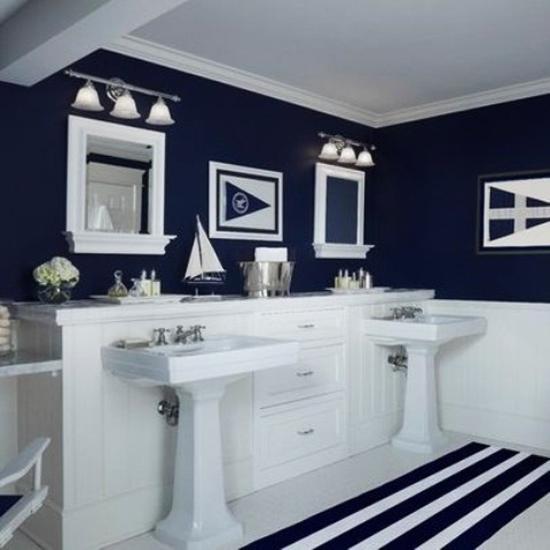 49 Nautical Bathroom Wallpaper On Wallpapersafari