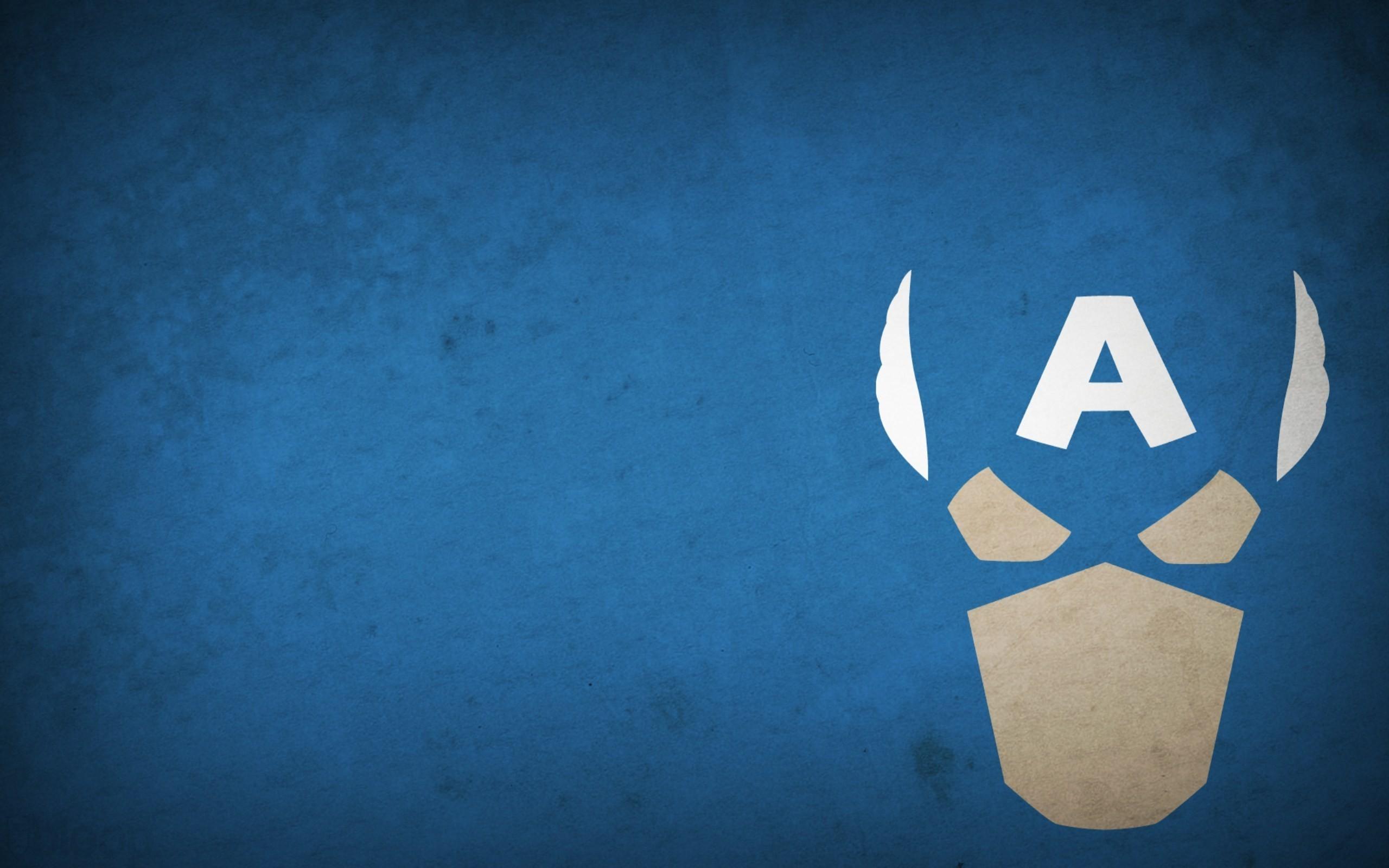 Captain america minimalist design minimalism picture 1920x1080 2560x1600