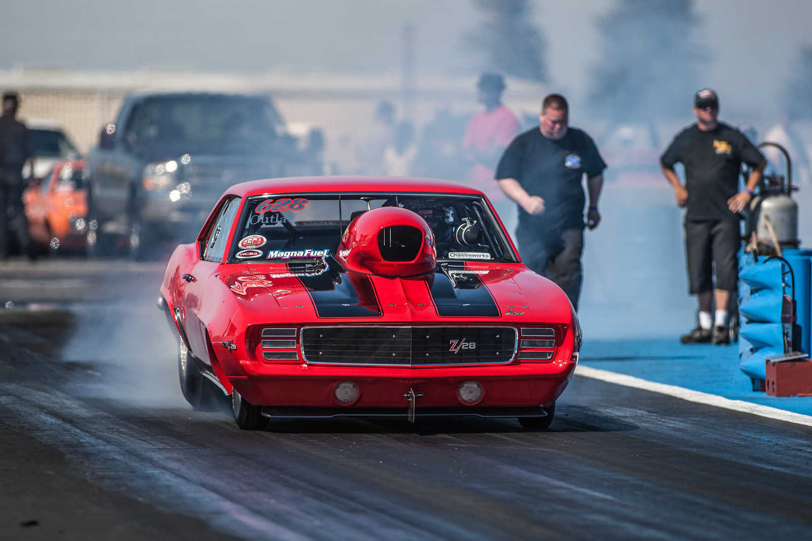 NHRA drag racing race hot rod rods chevrolet camaro wallpaper 1600x1067