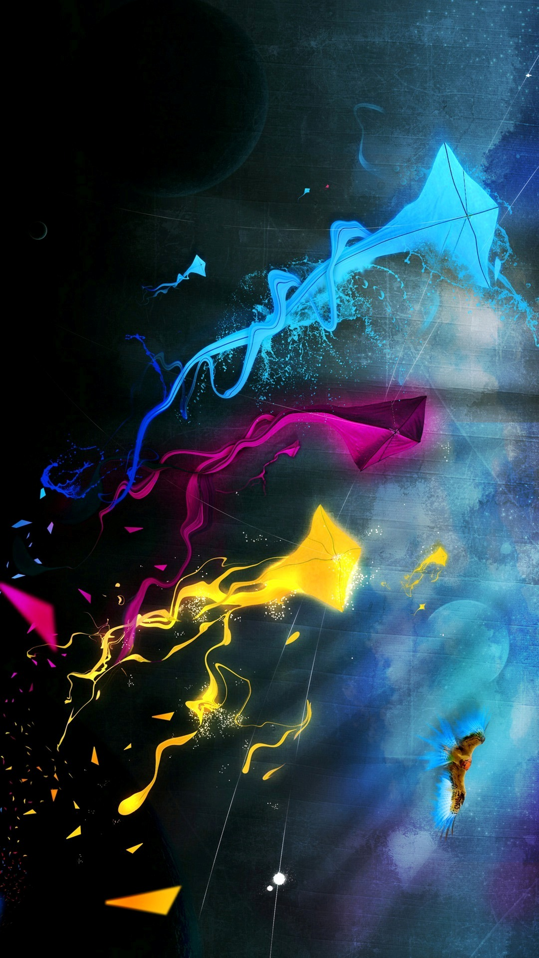 colorful kites windows phone hd for mobile phone wallpapers 1080x1920 1080x1920