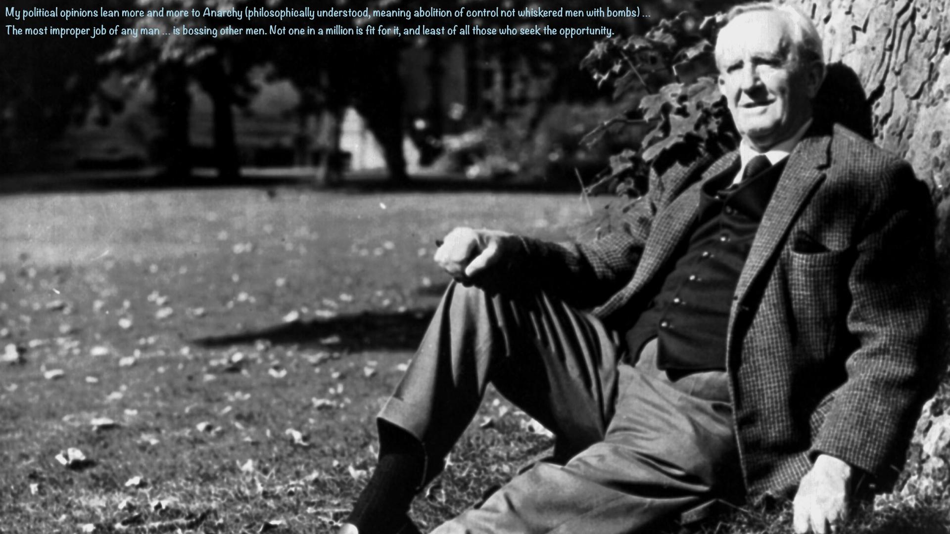 JRR Tolkien 1920 1920x1080