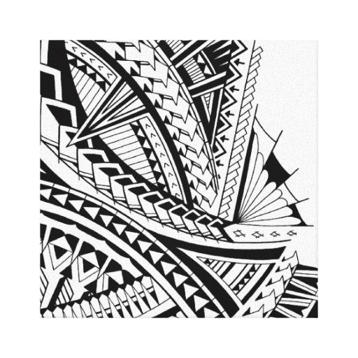 Maori Tattoo Designs Wallpaper: Polynesian Tribal Wallpaper