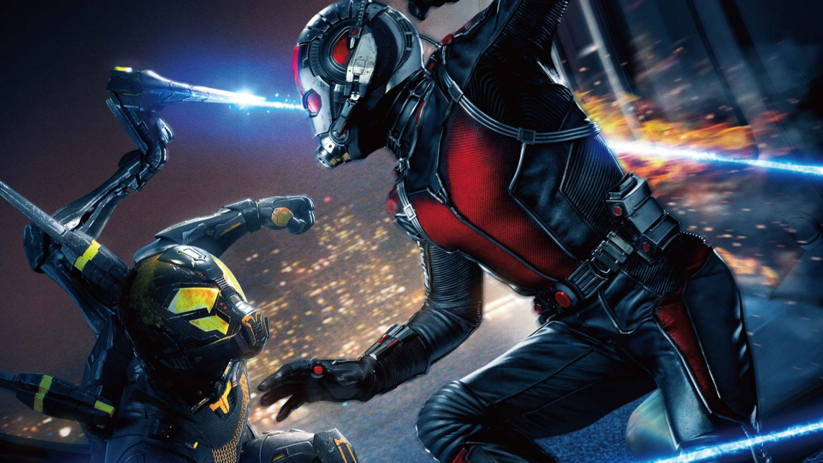 Ant Man And Yellow Jacket War Wallpapers   1600x900   493552 1600x900