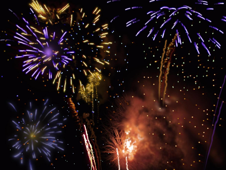 Fireworks Wallpaper Free: Moving Fireworks Wallpaper