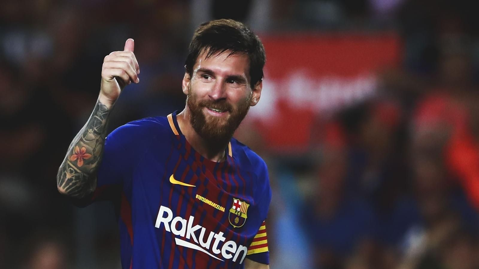 Lionel Messi hat trick lights up Barcelona derby win over 1600x900