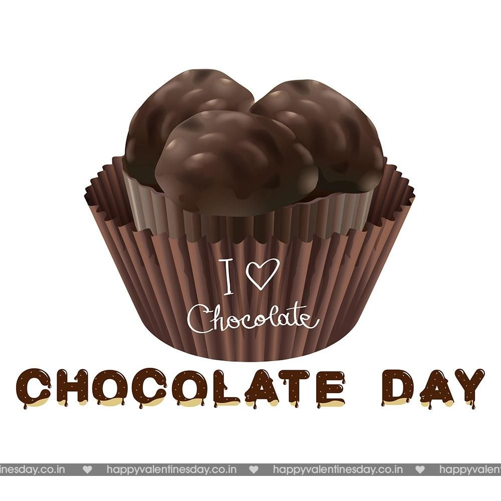 Chocolate Day animated cards Happy chocolate day 1000x1000