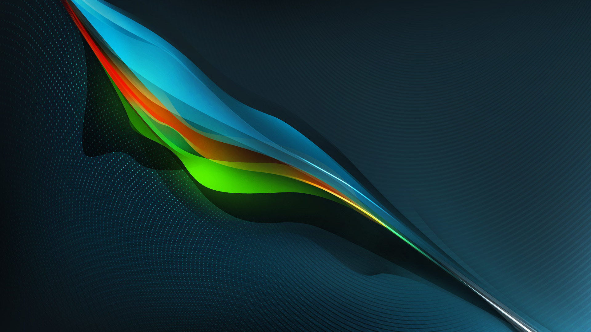 Download Colorful feather wallpaper 1920x1080