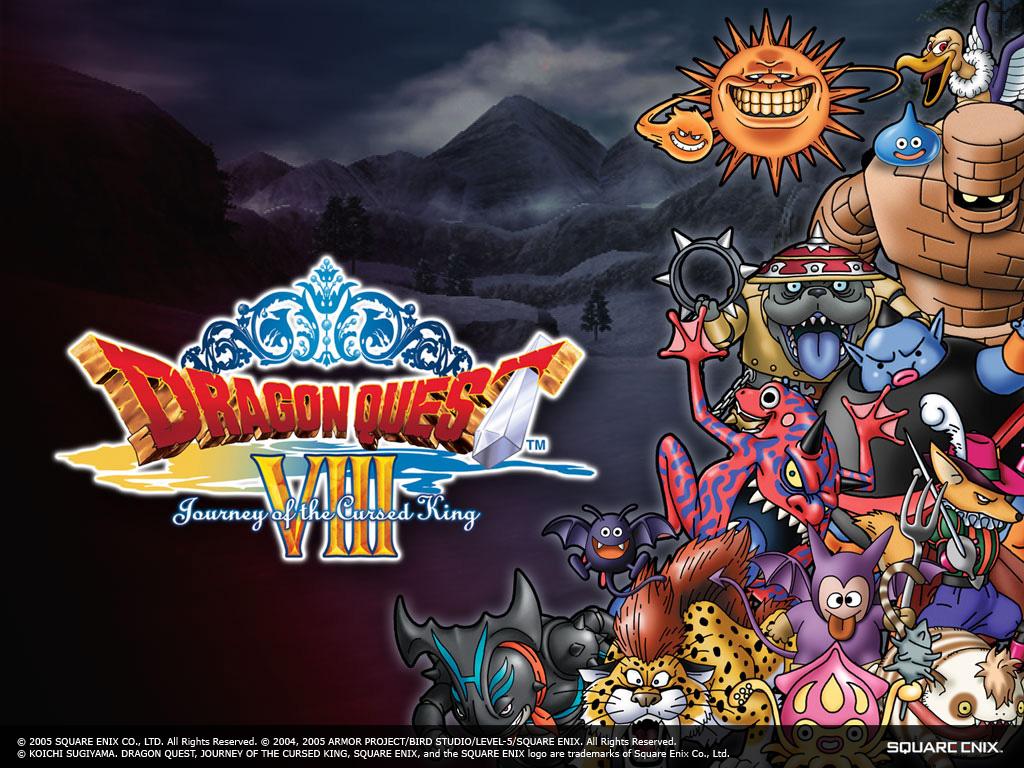 download Dragons Den Dragon Quest VIII PS2 Wallpaper 1024x768