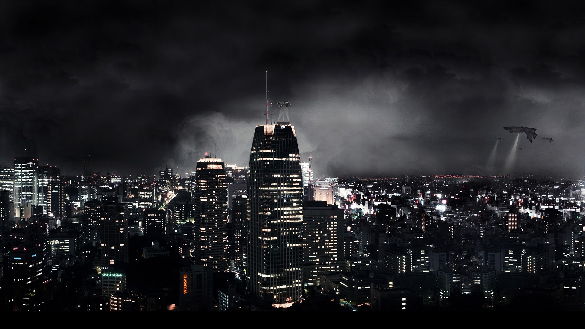 Cool Pictures City Skyline HD Wallpaper Cool Pictures City Skyline 1920x1080