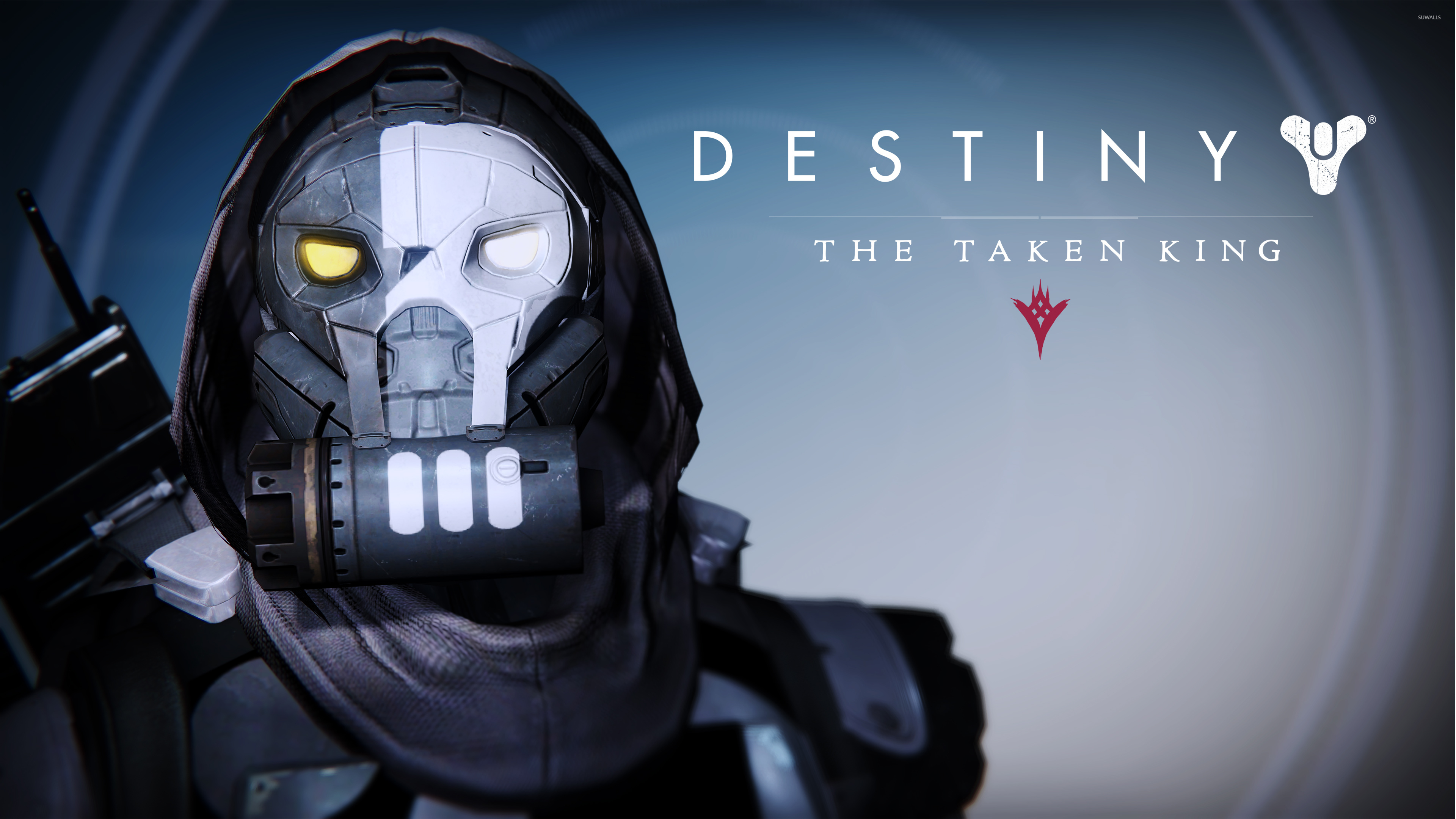 Dead Orbit Hunter male helmet   Destiny The Taken King wallpaper 1280x800