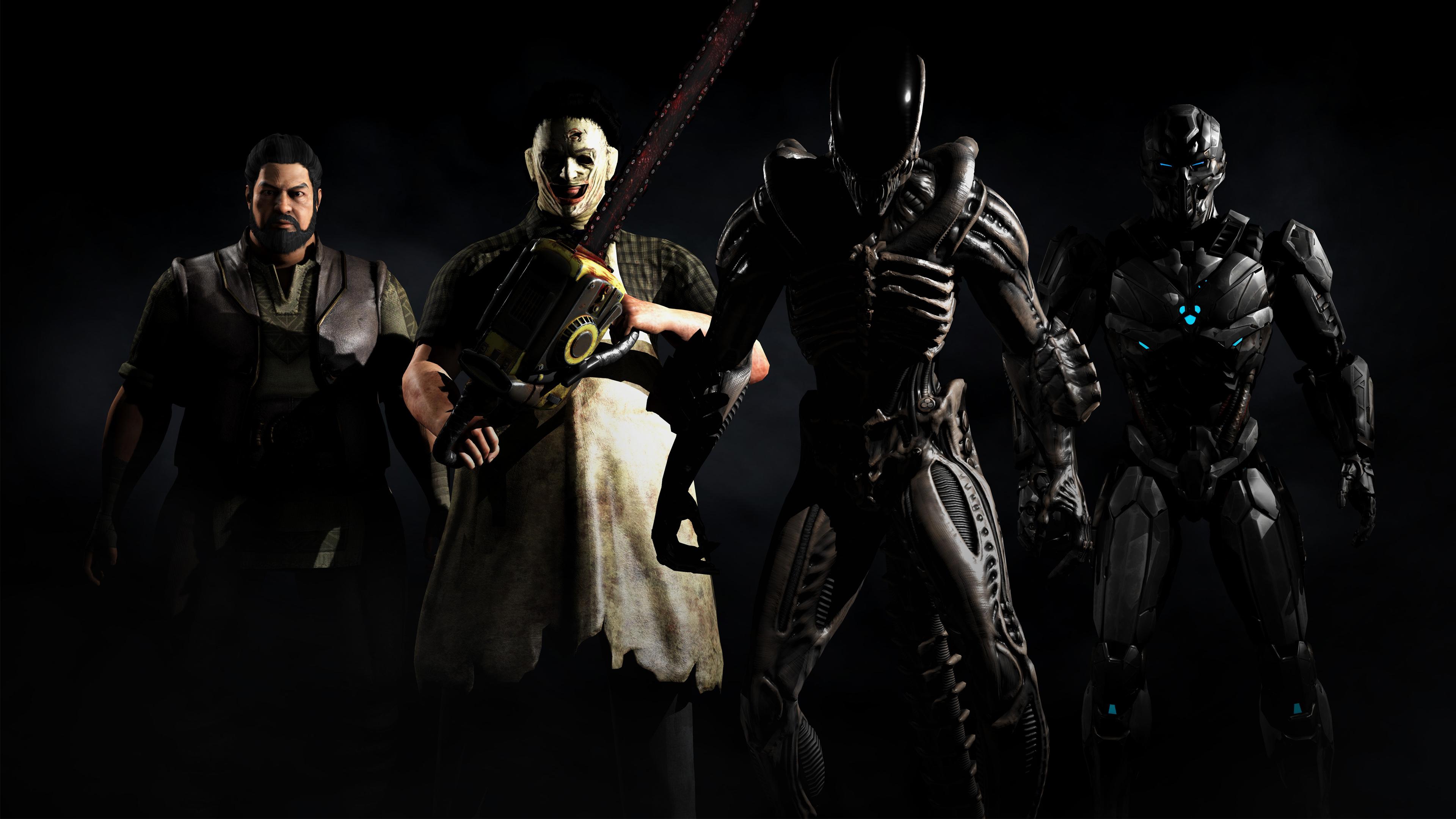Mortal Kombat X Kombat Pack 2 Wallpaper DESKTOP BACKGROUNDS Best 3840x2160