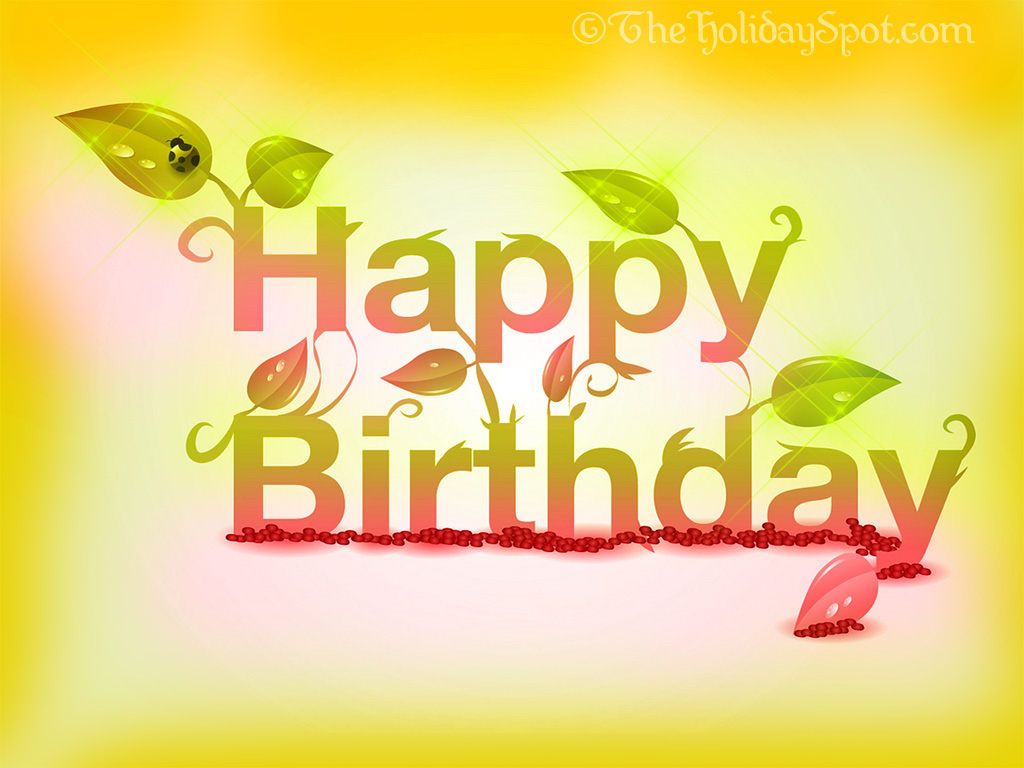 Happy Birthday Wallpapers   1024x768 HD Happy Birthday Illustration 1024x768