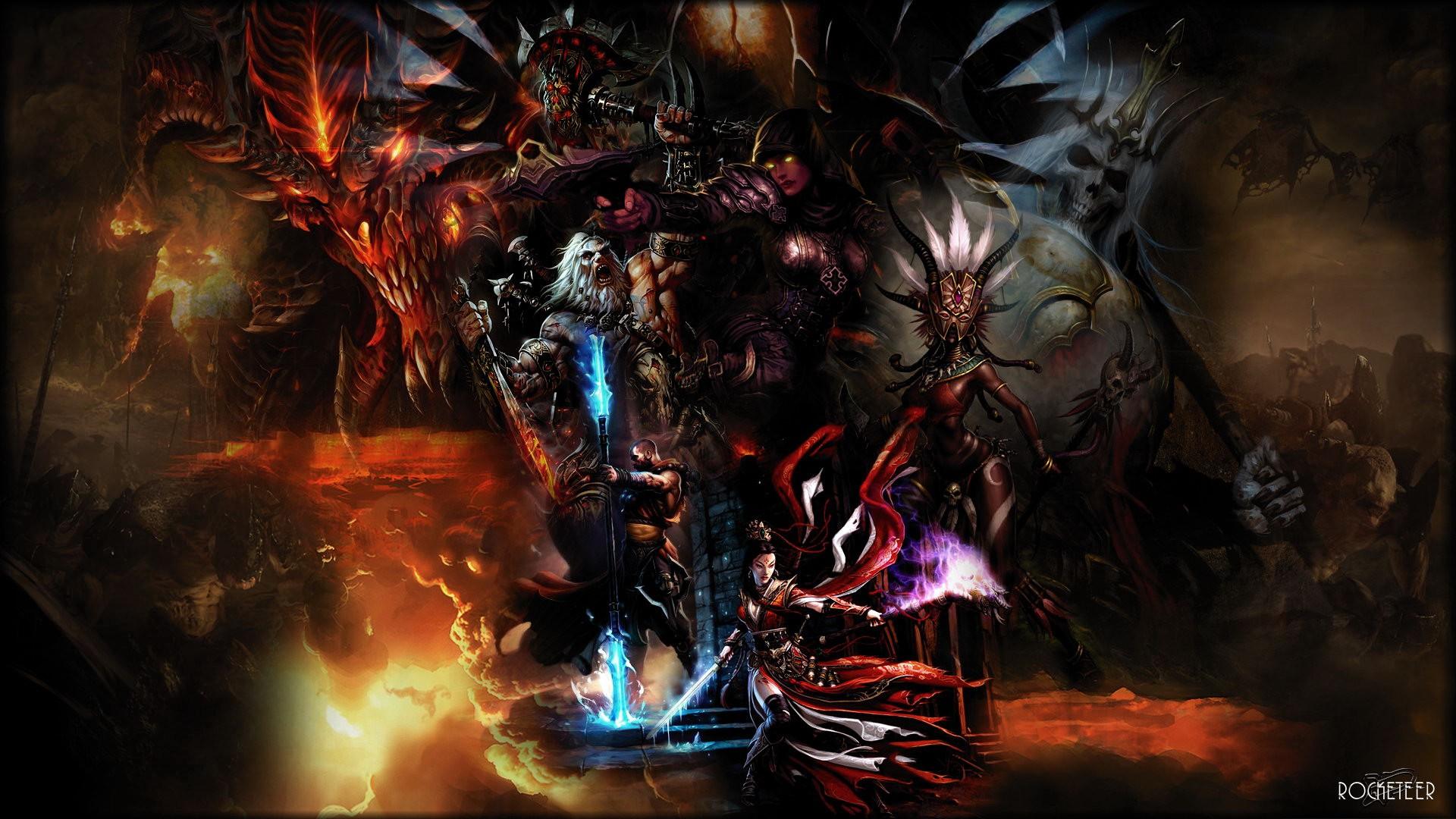 Diablo III Wallpaper 1920x1080 Diablo III 1920x1080