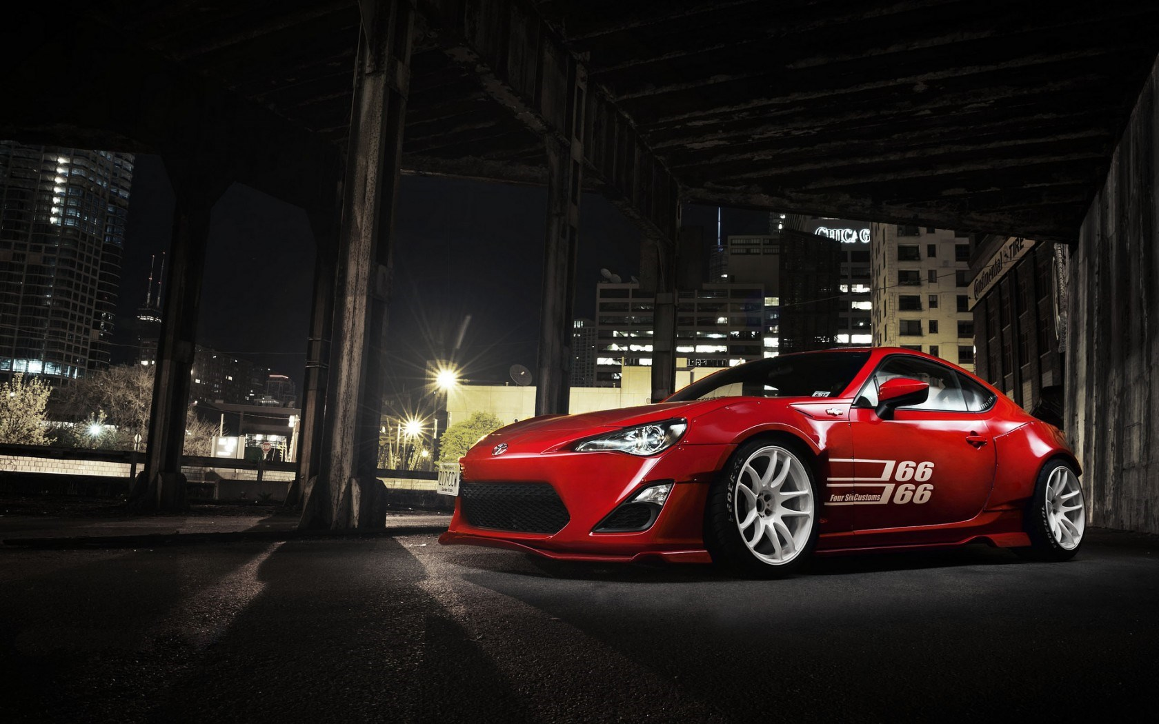 Toyota GT86 Wallpapers 1680x1050