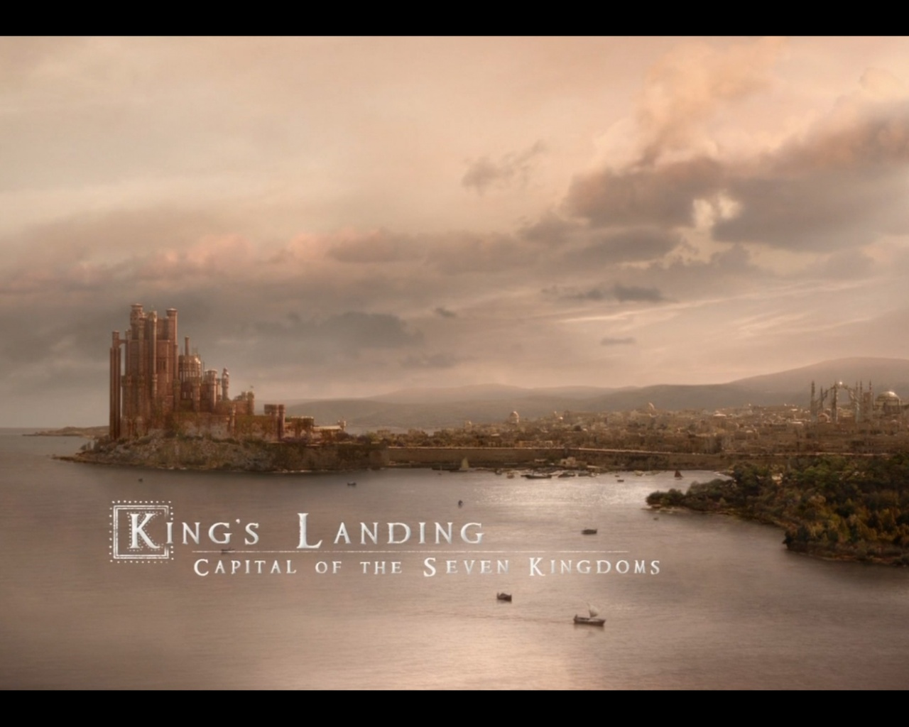 1280x1024 Game of thrones kings landing desktop PC and Mac wallpaper 1280x1024
