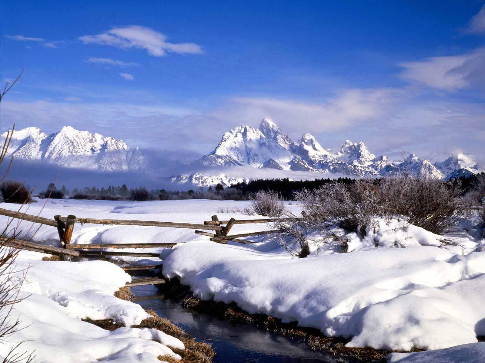 Winter Scenes for Desktop 1600x1200