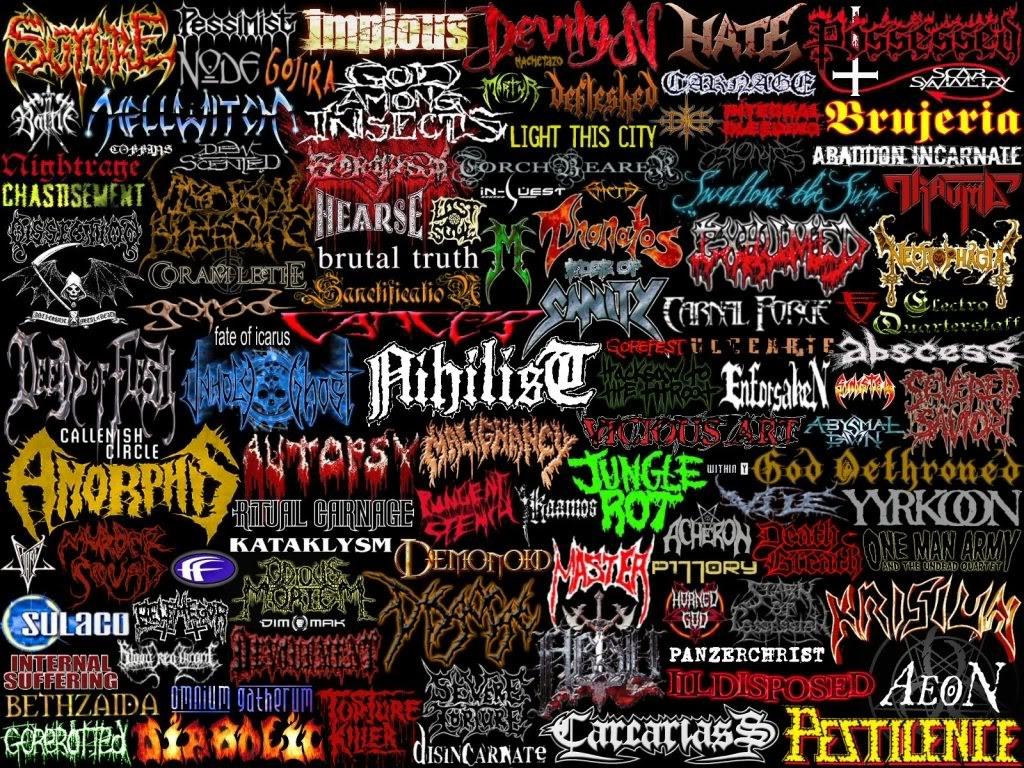 Heavy Metal Bands Wallpaper
