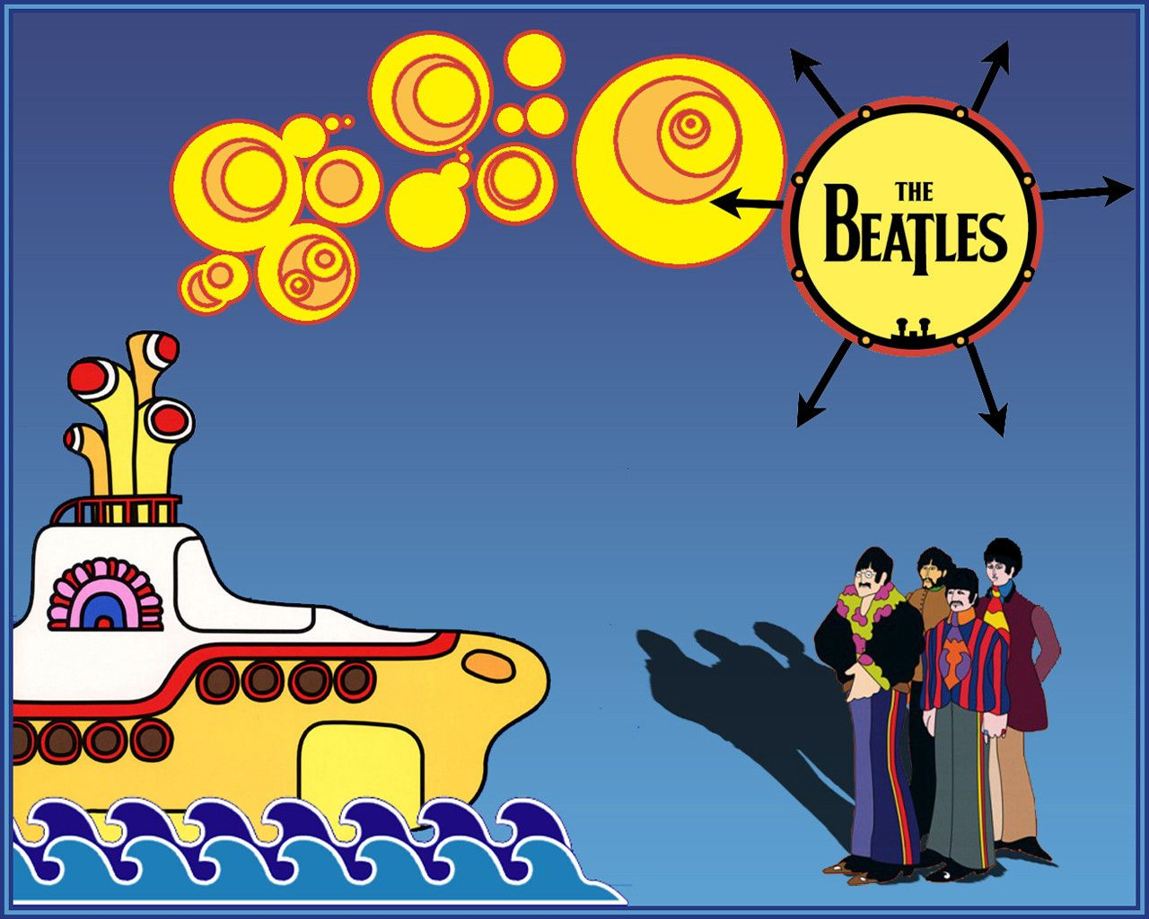 Yellow Submarine Wallpapers HD Wallpapers Base 1280x1024