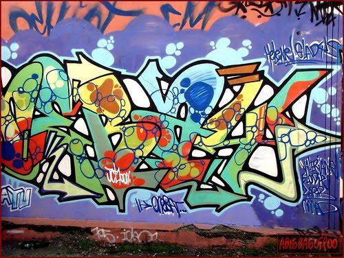 Creator 3D Letters Cool Graffiti Art Alphabet 2010 Wallpaper Myblog 500x376