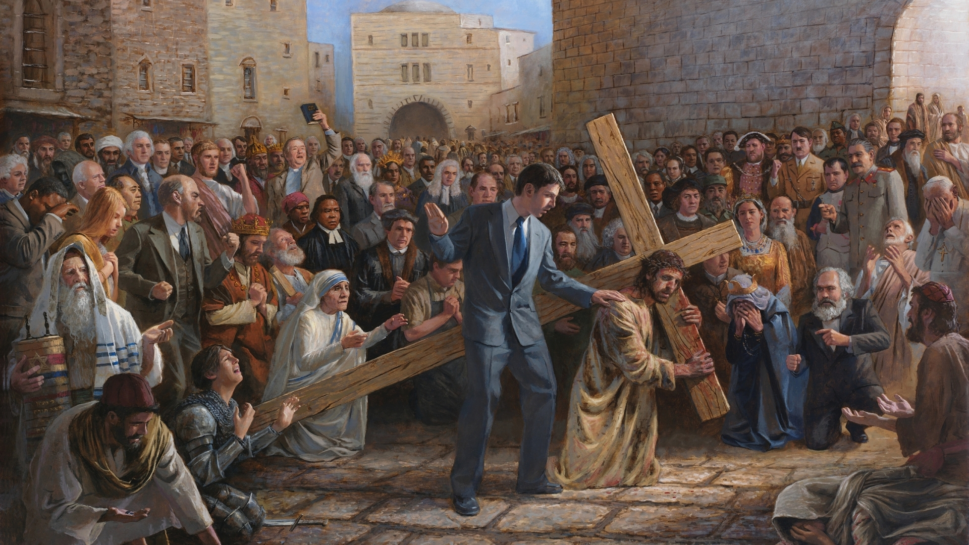 jesus christ widescreen wallpapers - photo #30