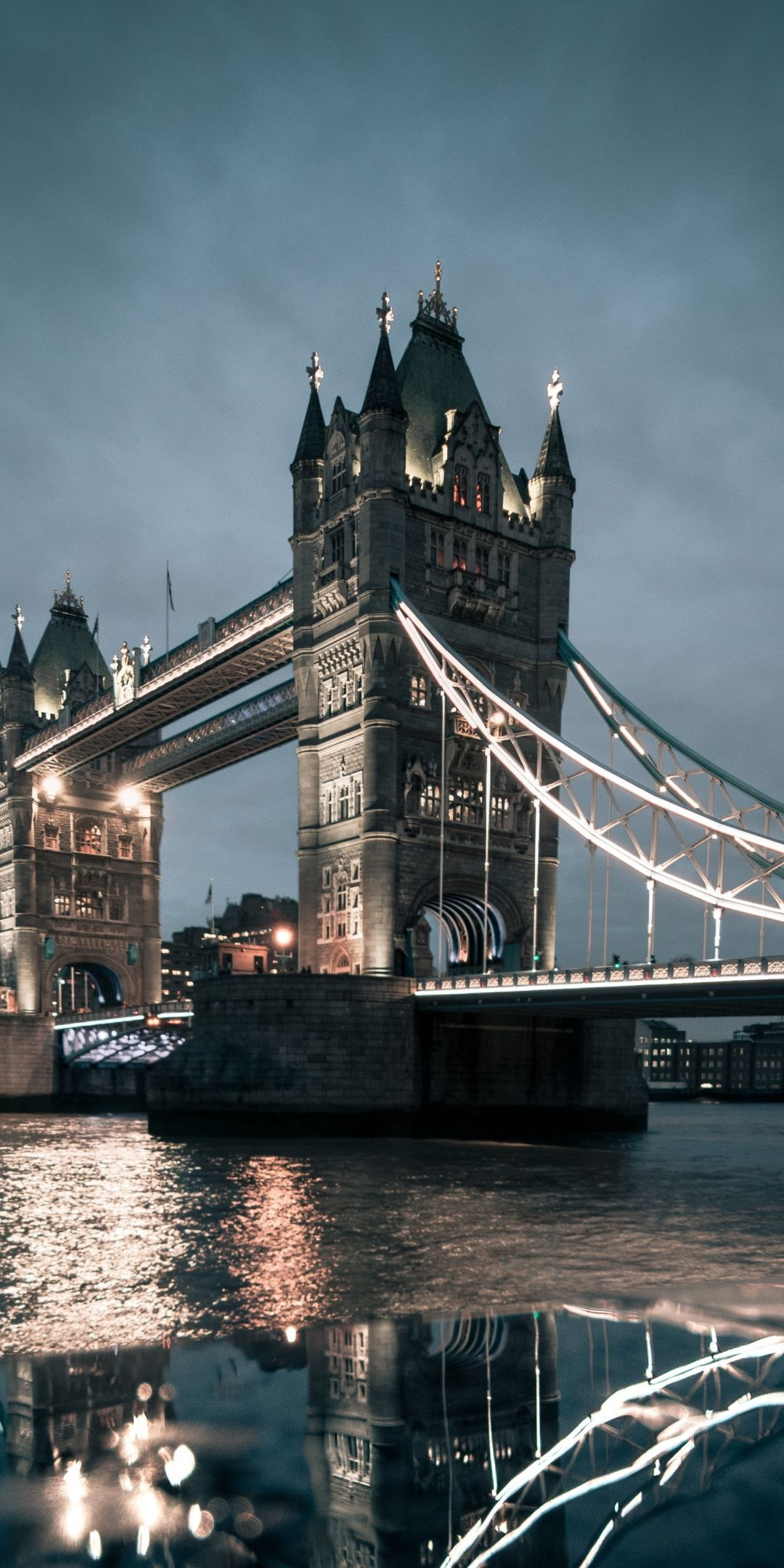London Tower Bridge night city 1080x2160 wallpaper London 1080x2160