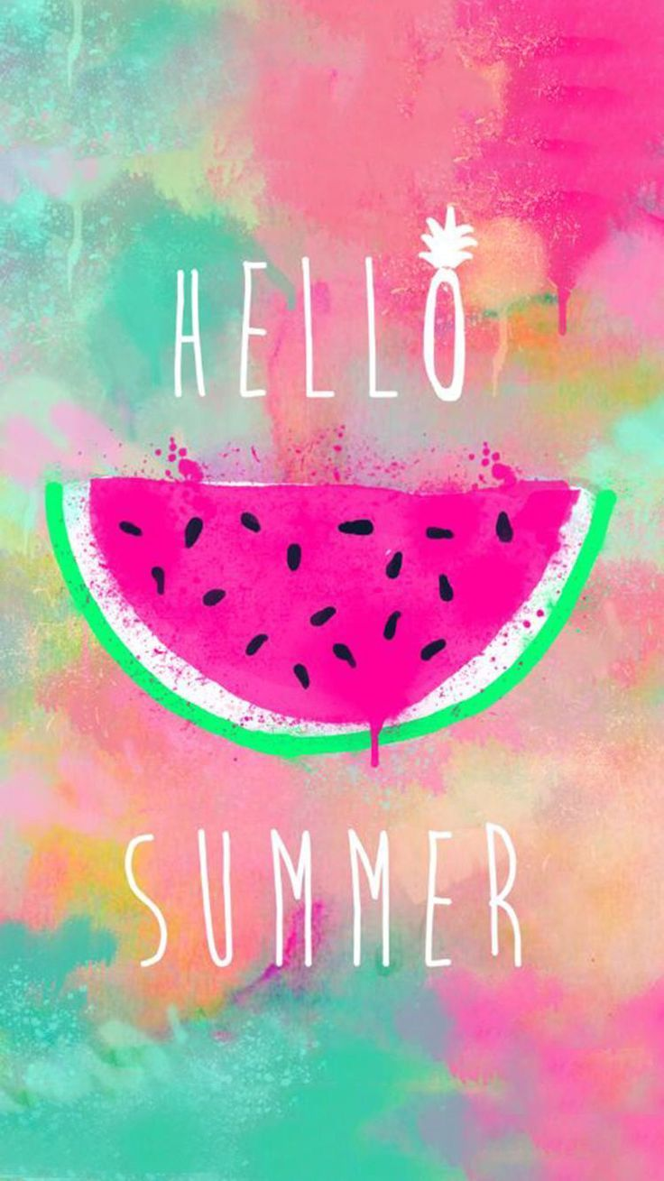 Cute Girly Wallpapers For Iphone Hello Summer   Best Wallpaper HD 736x1309
