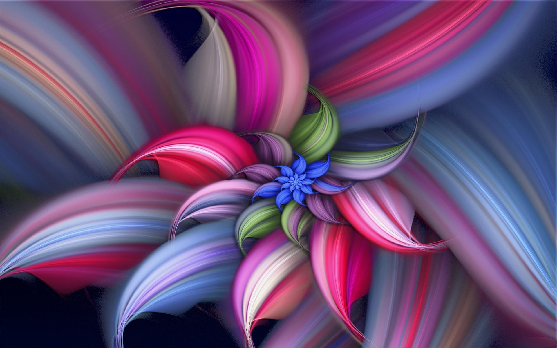 Desktop Wallpaper hd 3D Full Screen Flowers 1920x1200