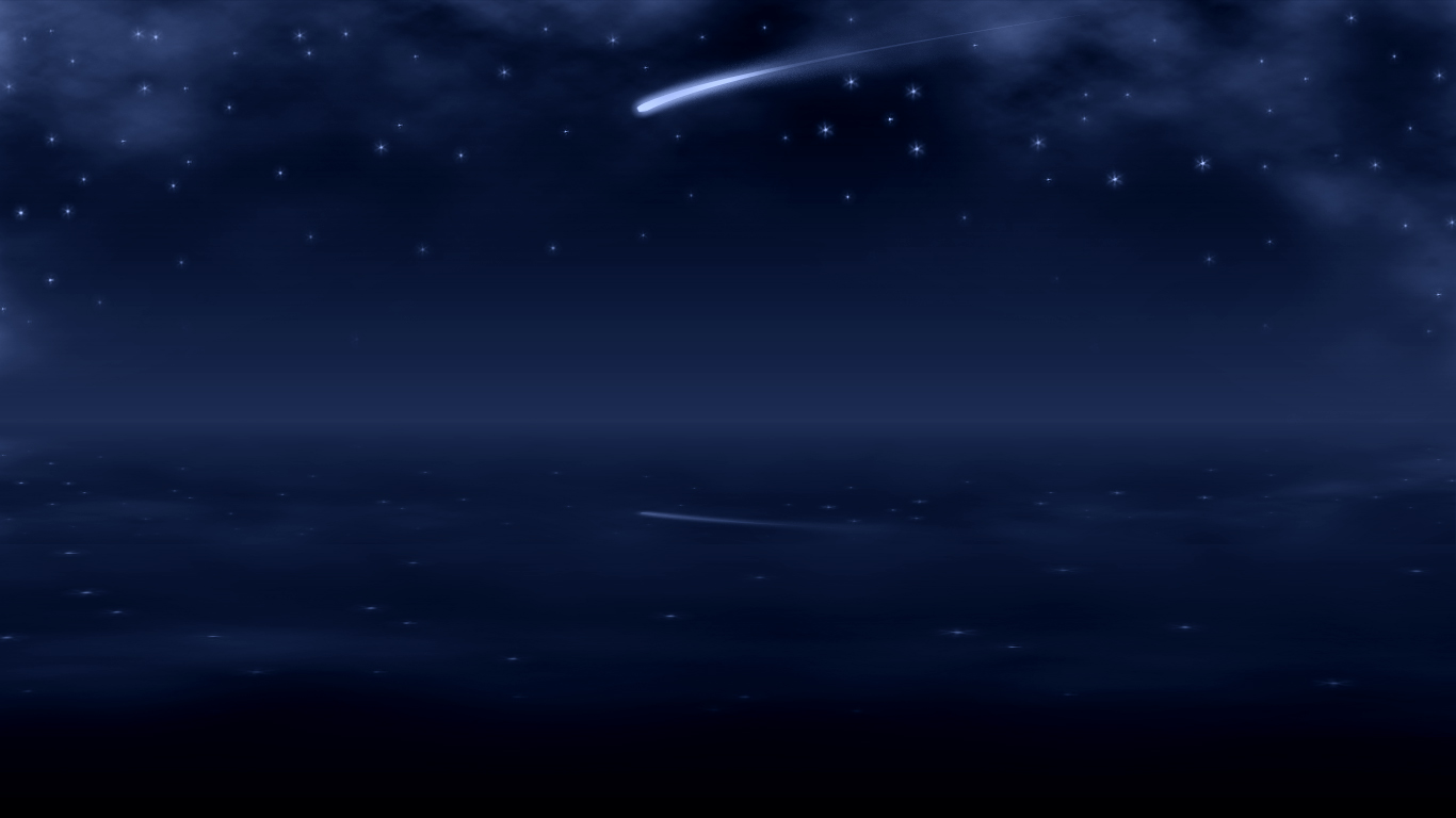 Wallpapers For Shooting Star Wallpaper 1366x768