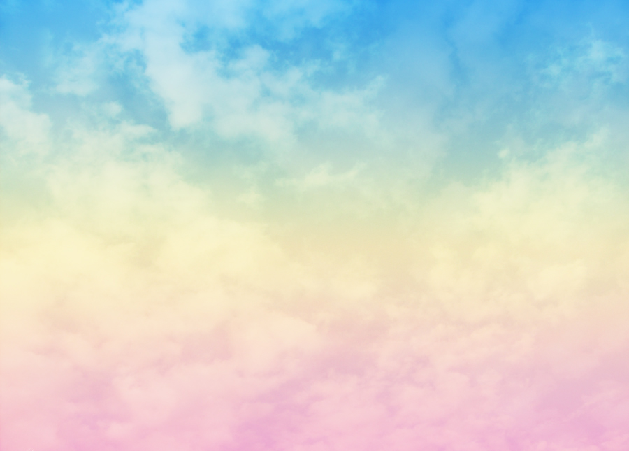 blue cloud with rainbow wallpaper - photo #10