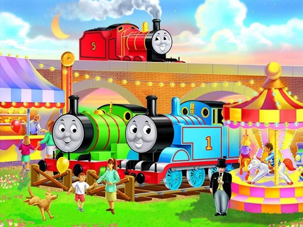 Thomas and Friends Desktop Wallpaper - WallpaperSafari