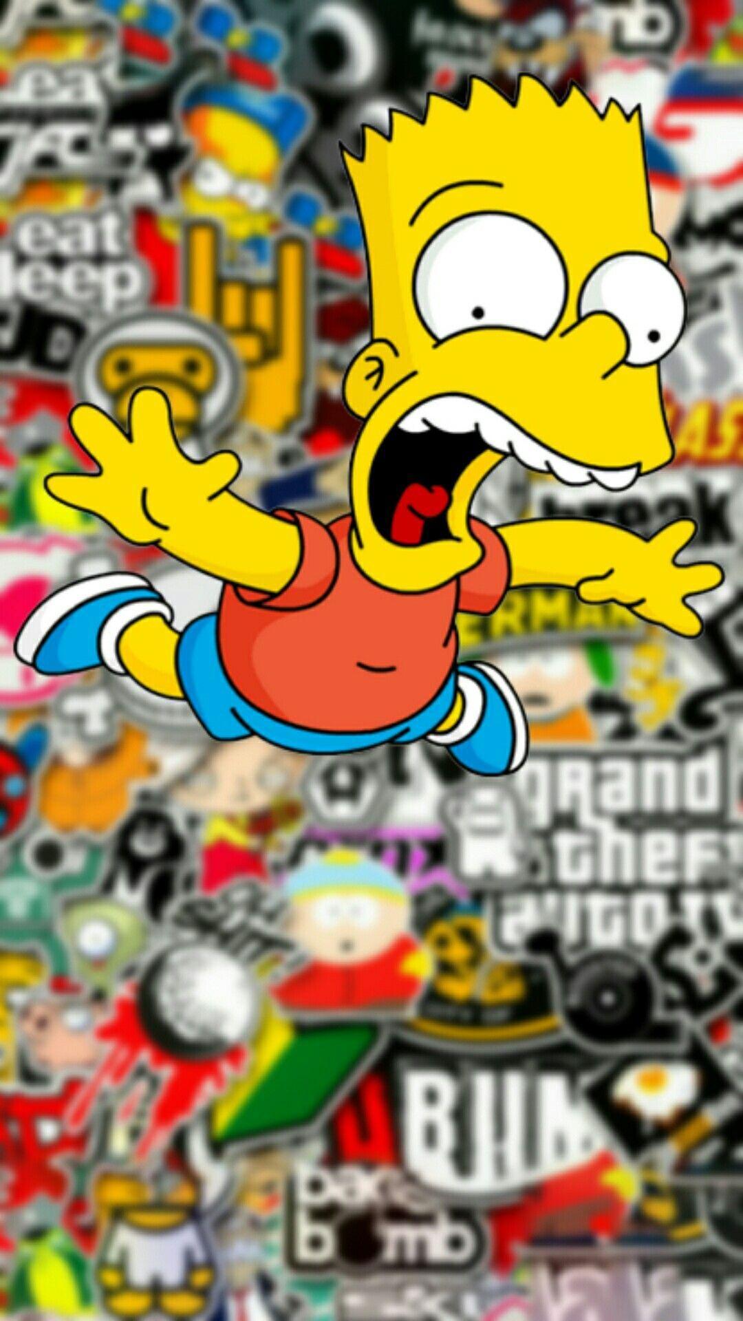 Free Download 40 Bape Bart Simpson Wallpapers Download At