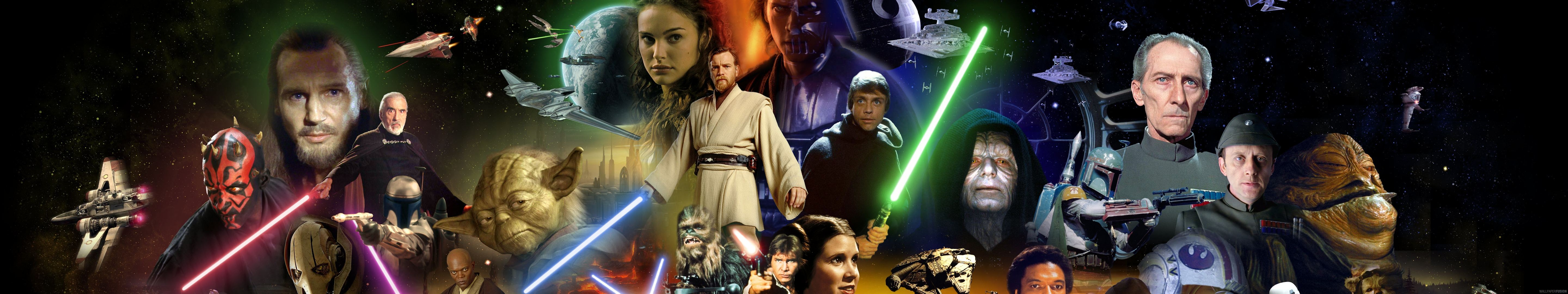 44 Star Wars 3 Monitor Wallpaper On Wallpapersafari