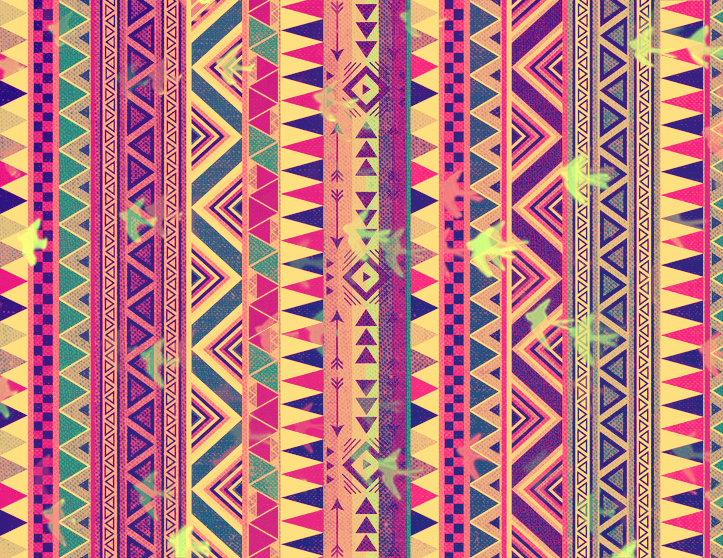 Aztec tribal background We Heart It background colors 723x558