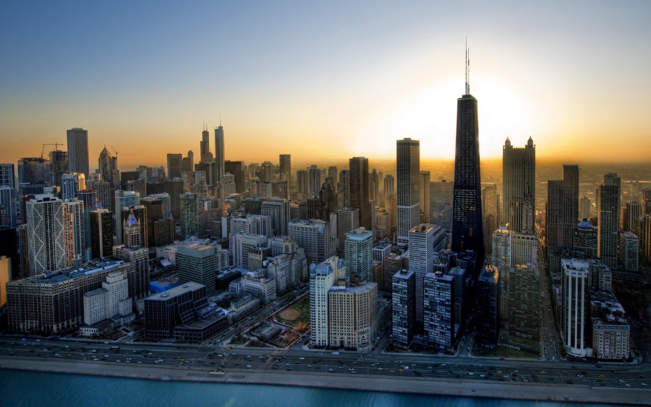 Chicago Illinois USA   Wallpaper 35599 2560x1600