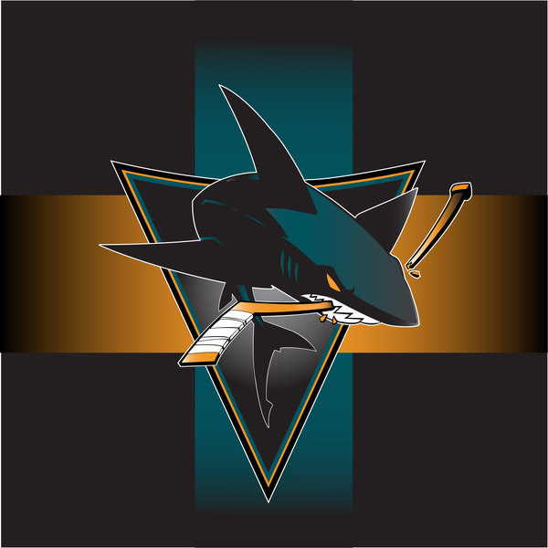 San Jose Sharks Version By Kenjiron 600x600